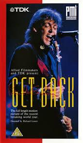 GET BACK -VHS-