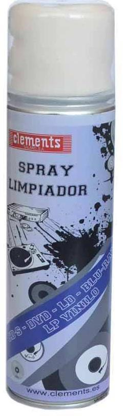 SPRAY LIMPIADOR CD DVD BR LP
