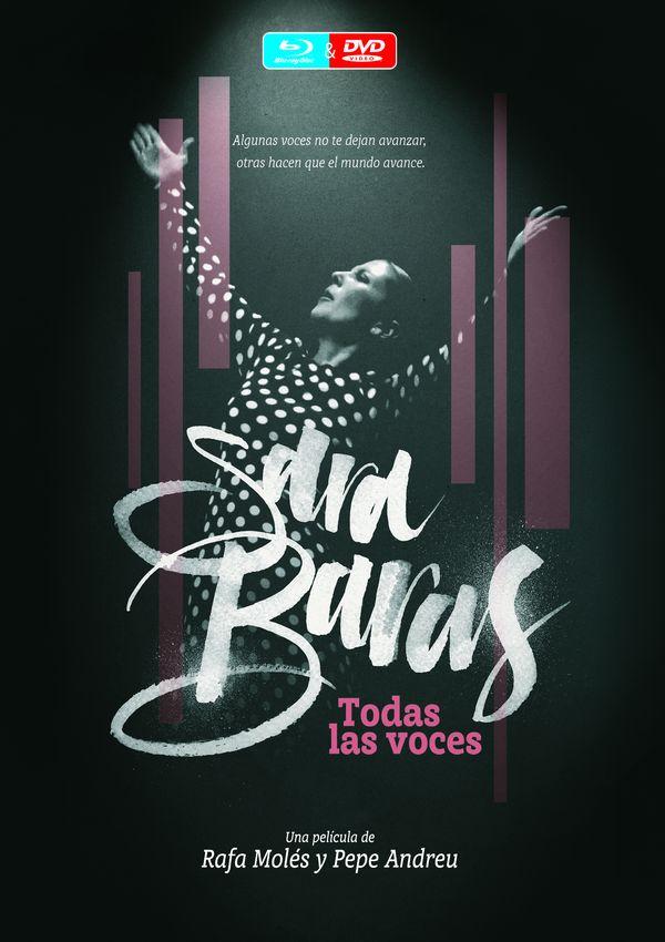 SARA BARAS TODAS LAS VOCES -BR + DVD-