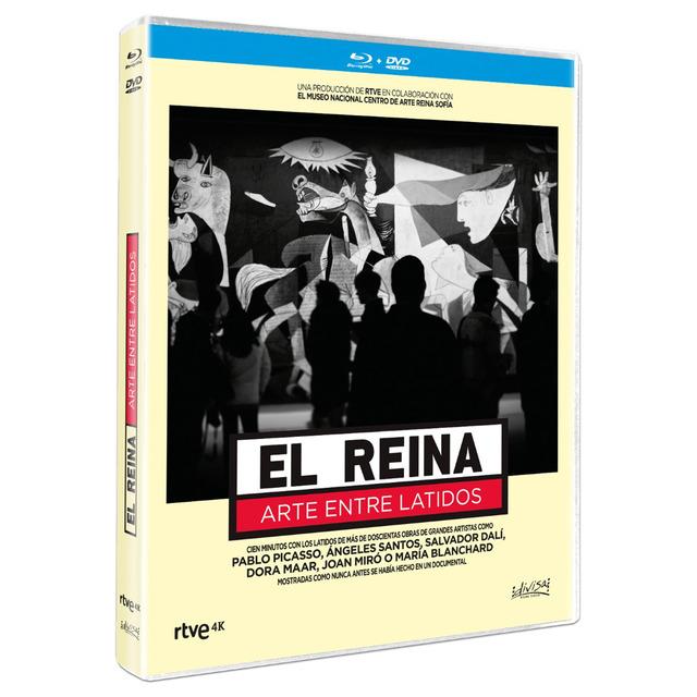 EL REINA ARTE ENTRE LATIDOS -DVD + BR-