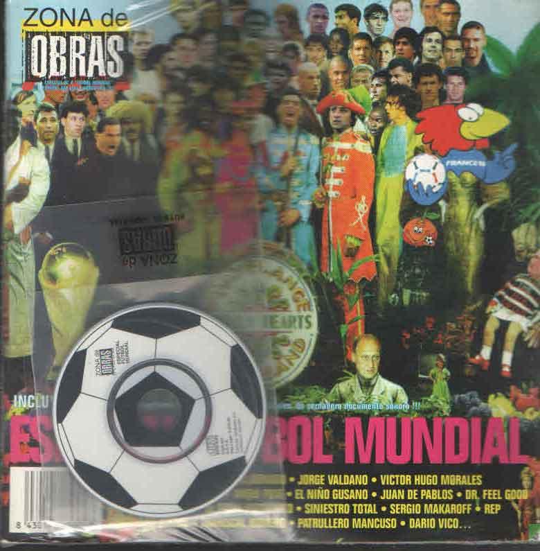 ESPECIAL MUNDIAL NUM 4  -FANZINE + CD-