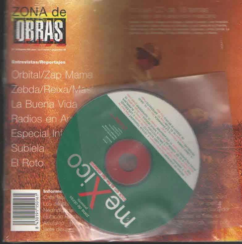MEXICO NUM 16  -FANZINE + CD-