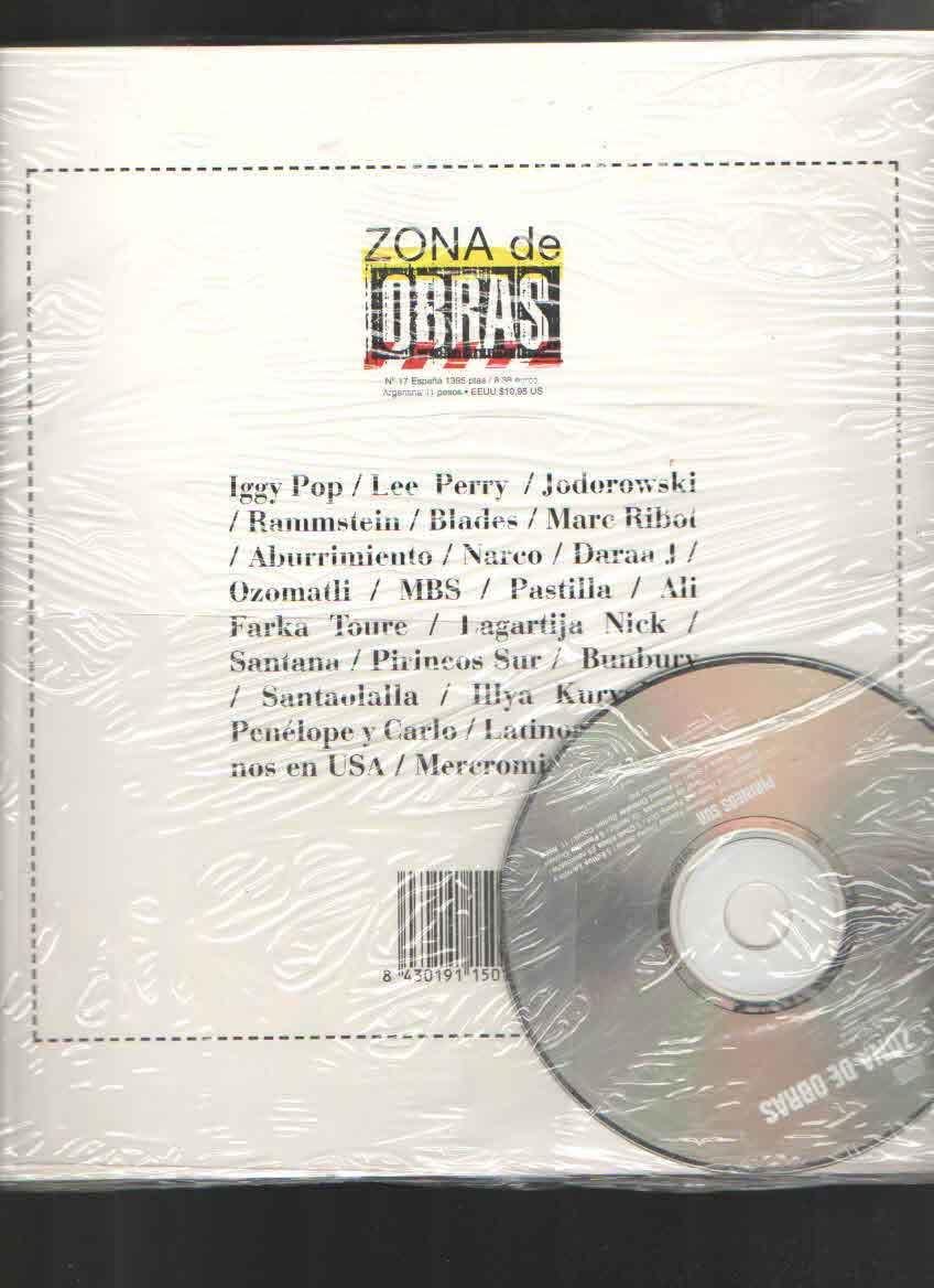 PIRINEOS SUR NUM 17  -FANZINE + CD-