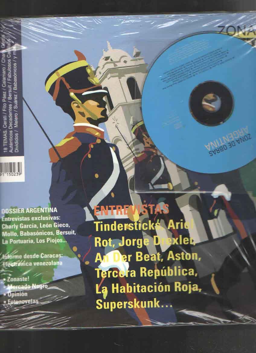 ARGENTINA NUM 23  -FANZINE + CD-