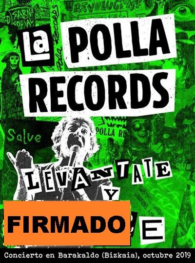 LEVANTATE Y MUERE BARAKALDO 2019 -FIRMADO 2CD +DVD-