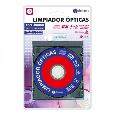 LIMPIADOR OPTICAS CD DVD BR CONSOLAS VIDEOJUEGOS