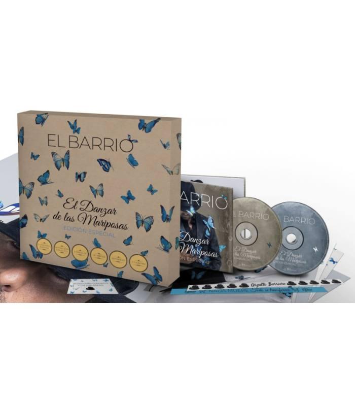 EL DANZAR DE LAS MARIPOSAS -LTD BOX +5BONUS +POSTALES +SOBRERO +PUSERAS--