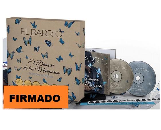 EL DANZAR DE LAS MARIPOSAS -BOX FIRMADO +BONUS +POSTALES +SOBRERO +PULSERAS +POSTER-