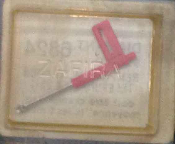 AGUJA ZAFIRA DIAMANT TELEFUNKEN A 23 1 6824