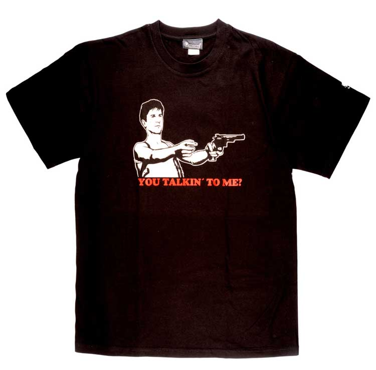 CAMISETA TAXI DRIVER YOU TALKING -TALLA S-