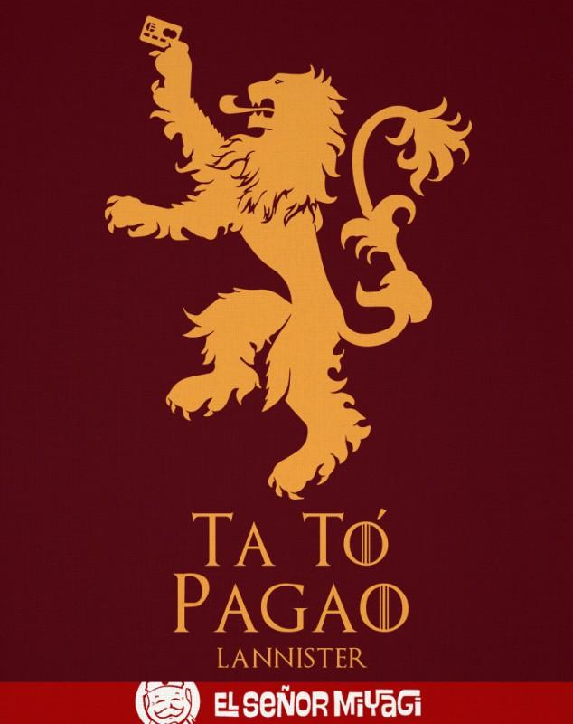 CAMISETA TA TO PAGAO -TALLA L-