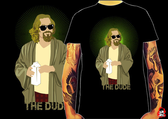 CAMISETA THE DUDE -TALLA M-