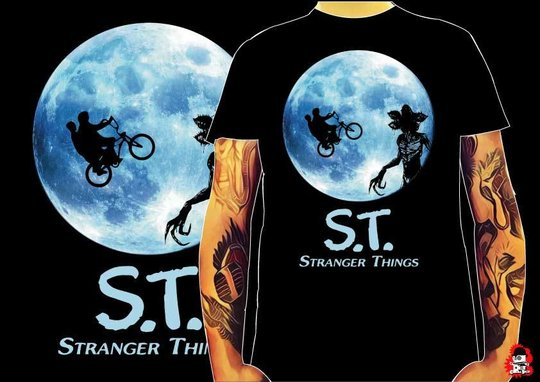 CAMISETA ST STRANGER THINGS -TALLA M-