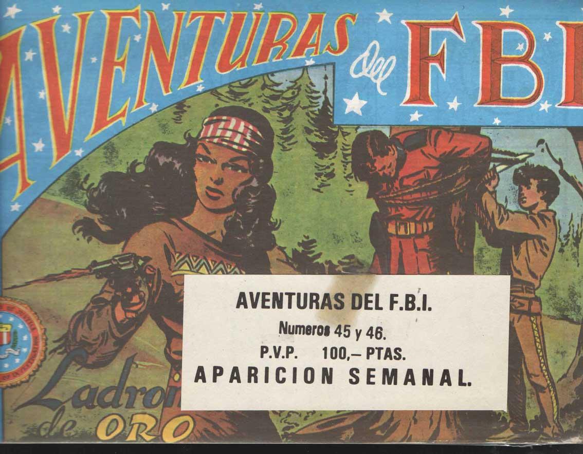COMIC AVENTURAS DEL FBI 45-46