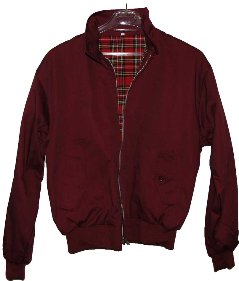 CHAQUETA TIPO HARRINGTON GRANATE TALLA S