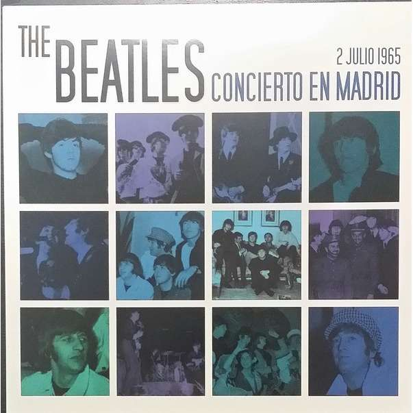 CONCIERTO EN MADRID -BLUE VINYL + CD + REVISTA-