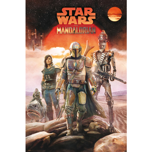 STAR WARS THE MANDALORIAN CREW