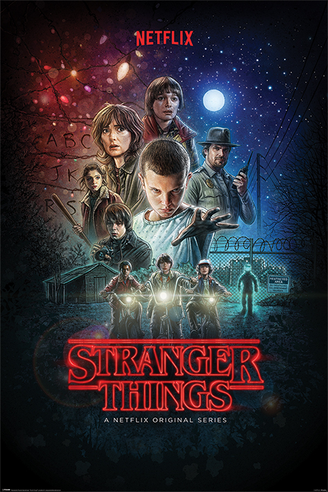 STRANGER THINGS ONE SHEET