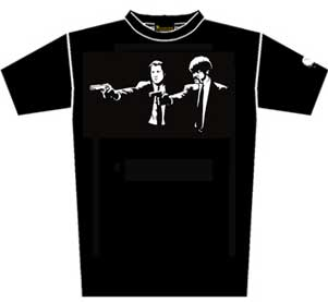CAMISETA PULP FICTION -L-