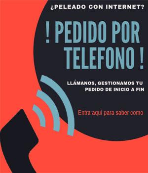 Pedidos por telefono